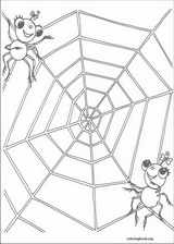 Miss Spider coloring page (001)