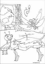 Miss Spider coloring page (009)