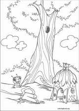 Miss Spider coloring page (012)