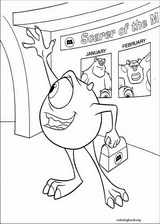 Monsters, Inc. coloring page (001)