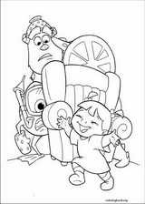 Monsters, Inc. coloring page (016)