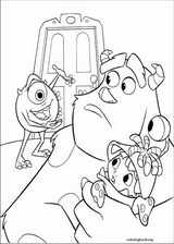 Monsters, Inc. coloring page (019)