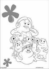 Monsters, Inc. coloring page (034)