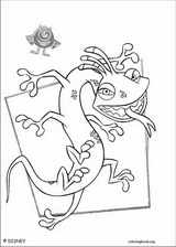 Monsters, Inc. coloring page (035)