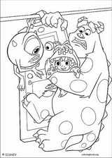Monsters, Inc. coloring page (044)