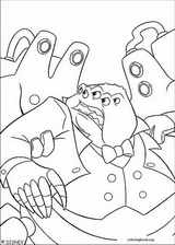 Monsters, Inc. coloring page (050)