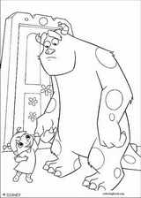 Monsters, Inc. coloring page (051)