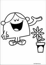Mr. Men coloring page (016)