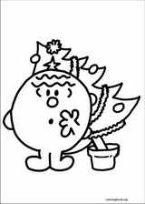Mr. Men coloring page (021)