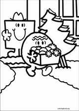 Mr. Men coloring page (023)