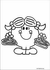 Mr. Men coloring page (024)