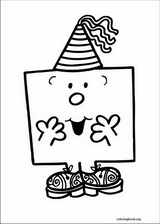 Mr. Men coloring page (027)