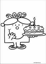 Mr. Men coloring page (028)