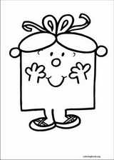 Mr. Men coloring page (030)