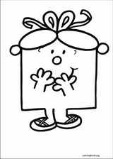 Mr. Men coloring page (035)