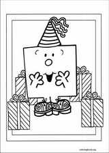 Mr. Men coloring page (042)