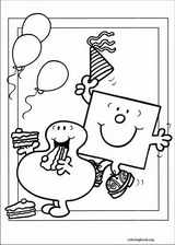 Mr. Men coloring page (043)