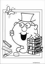 Mr. Men coloring page (045)