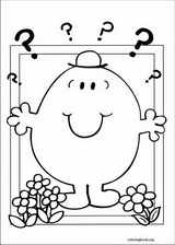 Mr. Men coloring page (046)