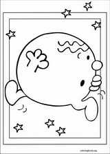 Mr. Men coloring page (047)