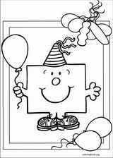 Mr. Men coloring page (048)