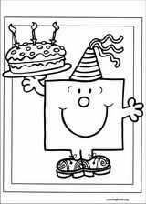 Mr. Men coloring page (049)