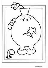 Mr. Men coloring page (050)