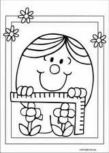 Mr. Men coloring page (052)