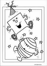 Mr. Men coloring page (054)