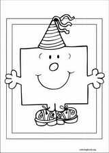 Mr. Men coloring page (056)