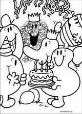 Mr. Men coloring page (057)