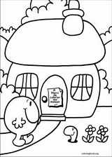 Mr. Men coloring page (058)