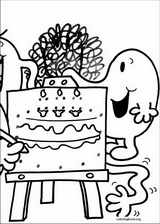 Mr. Men coloring page (060)