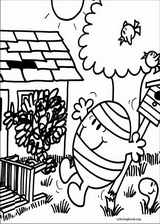 Mr. Men coloring page (065)