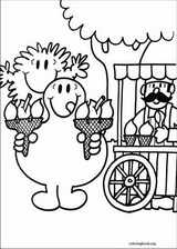 Mr. Men coloring page (068)