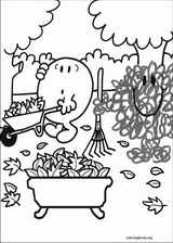 Mr. Men coloring page (072)