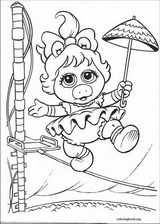 Muppet Babies coloring page (001)