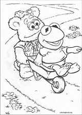 Muppet Babies coloring page (006)