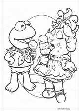 Muppet Babies coloring page (010)