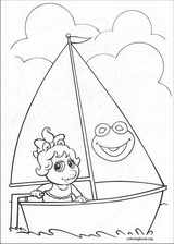 Muppet Babies coloring page (011)