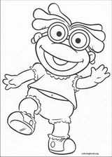 Muppet Babies coloring page (017)