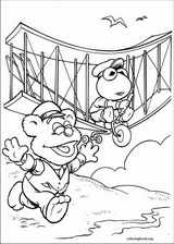 Muppet Babies coloring page (019)