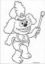 Muppet Babies coloring page (021)