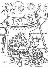Muppet Babies coloring page (030)