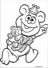 Muppet Babies coloring page (031)