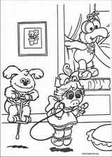 Muppet Babies coloring page (044)