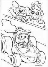 Muppet Babies coloring page (053)