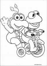 Muppet Babies coloring page (059)