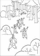 Open Season coloring page (004)