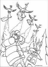Open Season coloring page (013)